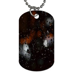 Lights And Drops While On The Road Dog Tag (two Sides)