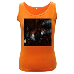 Lights And Drops While On The Road Women s Dark Tank Top