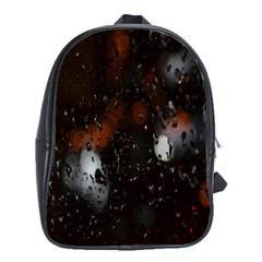 Lights And Drops While On The Road School Bags(Large)