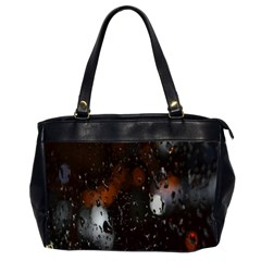 Lights And Drops While On The Road Office Handbags (2 Sides)