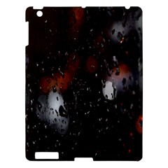 Lights And Drops While On The Road Apple iPad 3/4 Hardshell Case