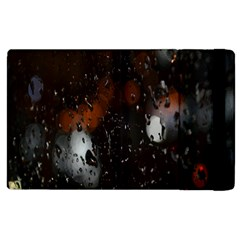 Lights And Drops While On The Road Apple iPad 2 Flip Case