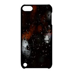 Lights And Drops While On The Road Apple Ipod Touch 5 Hardshell Case With Stand
