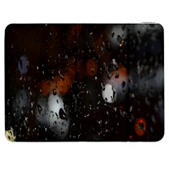 Lights And Drops While On The Road Samsung Galaxy Tab 7  P1000 Flip Case