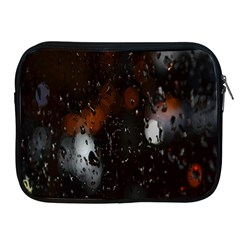 Lights And Drops While On The Road Apple iPad 2/3/4 Zipper Cases