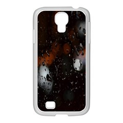 Lights And Drops While On The Road Samsung GALAXY S4 I9500/ I9505 Case (White)
