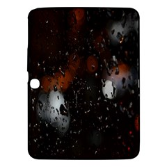 Lights And Drops While On The Road Samsung Galaxy Tab 3 (10.1 ) P5200 Hardshell Case