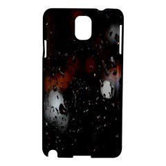 Lights And Drops While On The Road Samsung Galaxy Note 3 N9005 Hardshell Case