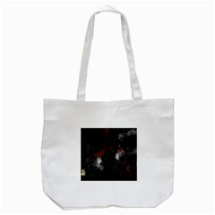 Lights And Drops While On The Road Tote Bag (White)