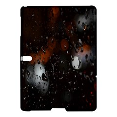 Lights And Drops While On The Road Samsung Galaxy Tab S (10 5 ) Hardshell Case