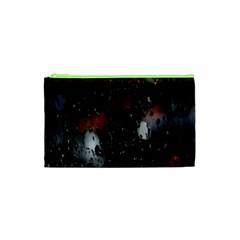 Lights And Drops While On The Road Cosmetic Bag (xs)