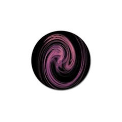 A Pink Purple Swirl Fractal And Flame Style Golf Ball Marker