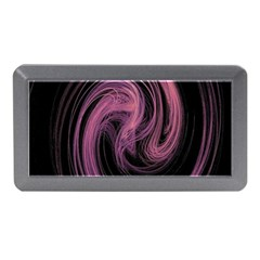 A Pink Purple Swirl Fractal And Flame Style Memory Card Reader (Mini)