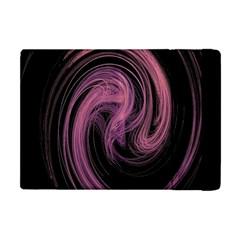 A Pink Purple Swirl Fractal And Flame Style Apple iPad Mini Flip Case