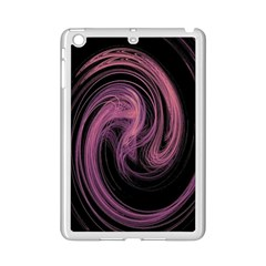 A Pink Purple Swirl Fractal And Flame Style iPad Mini 2 Enamel Coated Cases
