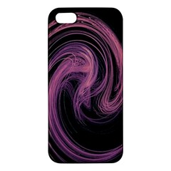 A Pink Purple Swirl Fractal And Flame Style Apple iPhone 5 Premium Hardshell Case