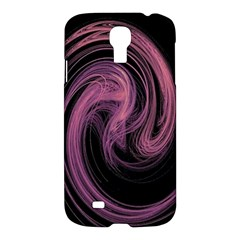 A Pink Purple Swirl Fractal And Flame Style Samsung Galaxy S4 I9500/I9505 Hardshell Case