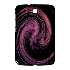 A Pink Purple Swirl Fractal And Flame Style Samsung Galaxy Note 8.0 N5100 Hardshell Case
