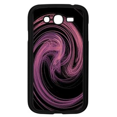 A Pink Purple Swirl Fractal And Flame Style Samsung Galaxy Grand DUOS I9082 Case (Black)
