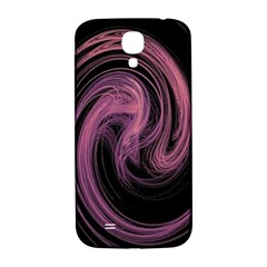 A Pink Purple Swirl Fractal And Flame Style Samsung Galaxy S4 I9500/I9505  Hardshell Back Case