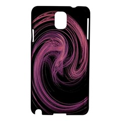 A Pink Purple Swirl Fractal And Flame Style Samsung Galaxy Note 3 N9005 Hardshell Case