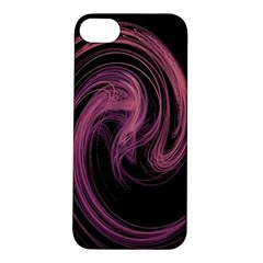 A Pink Purple Swirl Fractal And Flame Style Apple iPhone 5S/ SE Hardshell Case