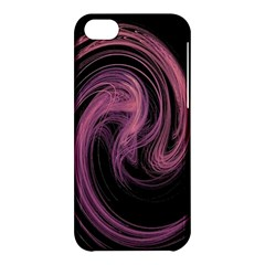 A Pink Purple Swirl Fractal And Flame Style Apple iPhone 5C Hardshell Case