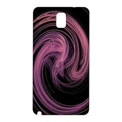 A Pink Purple Swirl Fractal And Flame Style Samsung Galaxy Note 3 N9005 Hardshell Back Case