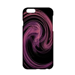 A Pink Purple Swirl Fractal And Flame Style Apple iPhone 6/6S Hardshell Case