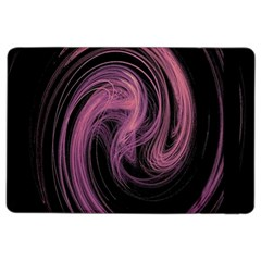 A Pink Purple Swirl Fractal And Flame Style iPad Air 2 Flip