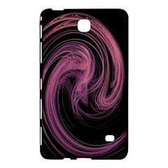 A Pink Purple Swirl Fractal And Flame Style Samsung Galaxy Tab 4 (8 ) Hardshell Case