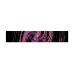 A Pink Purple Swirl Fractal And Flame Style Flano Scarf (Mini)