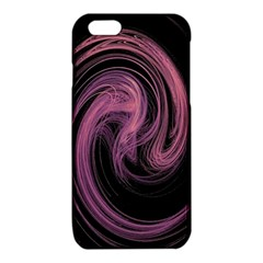 A Pink Purple Swirl Fractal And Flame Style iPhone 6/6S TPU Case