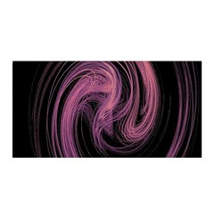 A Pink Purple Swirl Fractal And Flame Style Satin Wrap