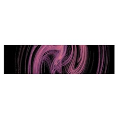 A Pink Purple Swirl Fractal And Flame Style Satin Scarf (oblong)