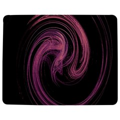 A Pink Purple Swirl Fractal And Flame Style Jigsaw Puzzle Photo Stand (Rectangular)