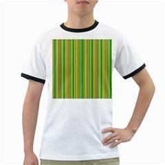 Lines Ringer T-Shirts