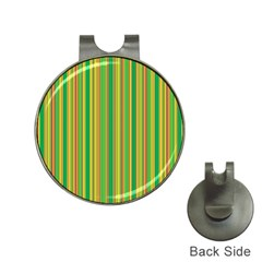 Lines Hat Clips with Golf Markers