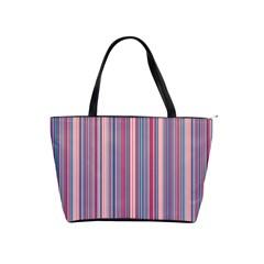 Lines Shoulder Handbags