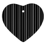 Lines Ornament (Heart) Front