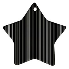 Lines Ornament (Star)
