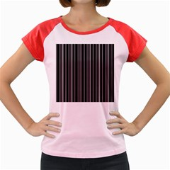 Lines Women s Cap Sleeve T-Shirt