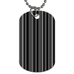 Lines Dog Tag (Two Sides)
