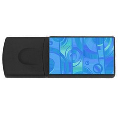 Pattern USB Flash Drive Rectangular (1 GB)