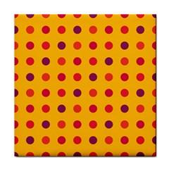 Polka dots  Tile Coasters