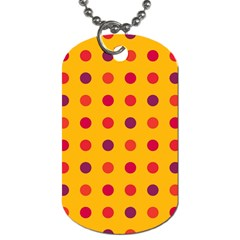 Polka dots  Dog Tag (Two Sides)