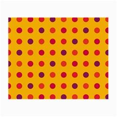 Polka dots  Small Glasses Cloth