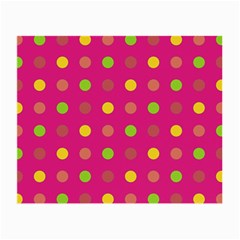 Polka dots  Small Glasses Cloth (2-Side)