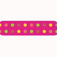 Polka dots  Large Bar Mats
