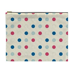 Polka dots  Cosmetic Bag (XL)